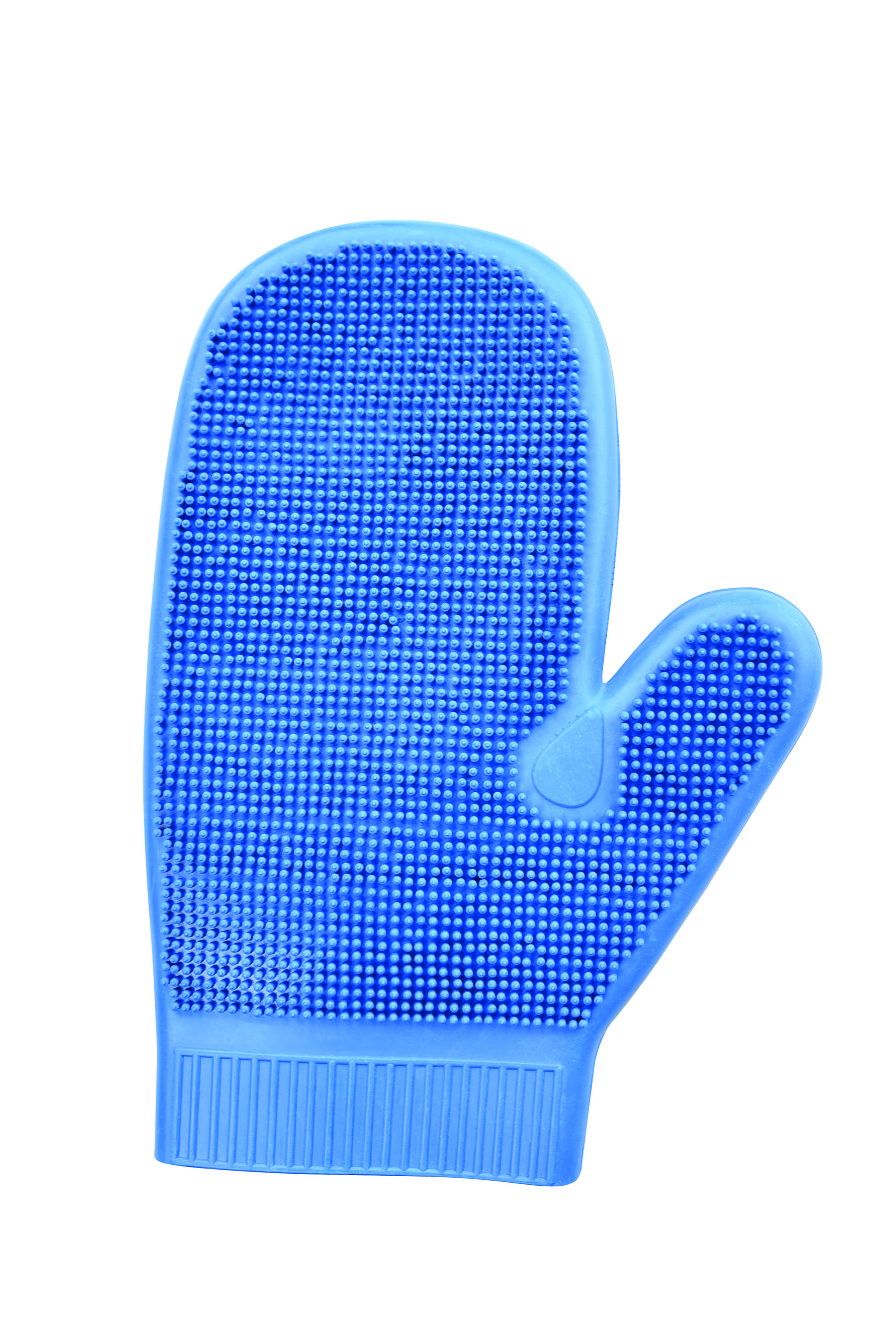 Rubber grooming Gloves