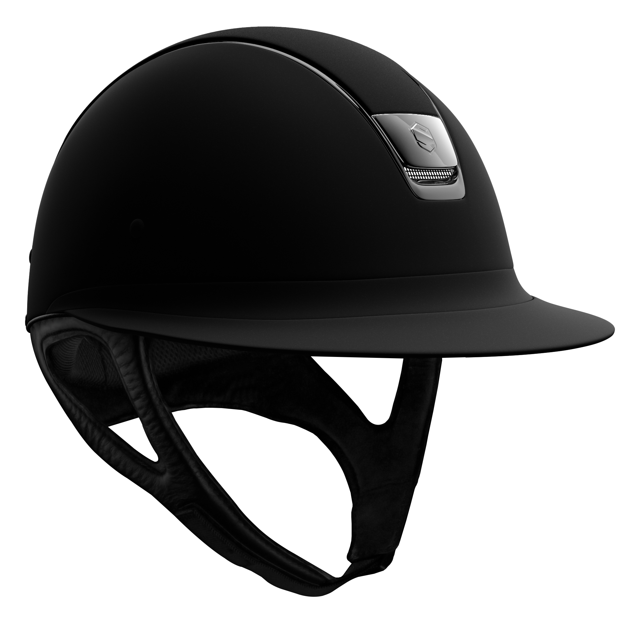 Samshield - HELMET Miss Shield Shadowmatt black chrome (standard)
