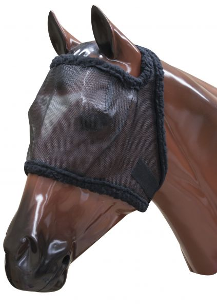 High Quality Fly Mask Brown