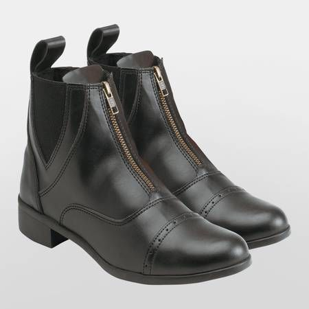 Equi Theme - Zip Up Synthetic half boot